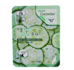 3W CLINIC Fresh mask sheet [Cucumber] X10sheet
