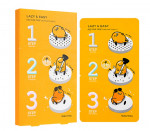 HOLIKAHOLIKA LAZY&EASY Pig Nose Clear Black Head 3-step Kit  (Gudetama Edition) 10ea