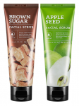 MISSHA Facial Scrub  (Apple Seed, Brown Sugar) (Tube) 120g