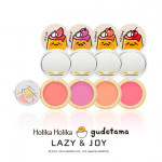 [E] HOLIKAHOLIKA LAZY&JOY Jelly Dough Blusher2 (Gudetama Edition) 6g