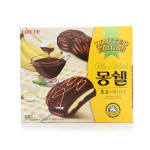 [F] LOTTE Mon cher Cream Cake Choco & Banana 360g
