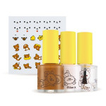 [E] APIEU Nail Color & Deco Sticker Kit 8.5ml*3ea+1p (Rilakkuma Edition)