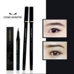 [W] COSMO MONSTER Waterproof Brush Pen Eyeliner Black 0.5ml