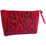 [L] ESTEE LAUDER	Red rounding pouch