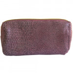 [L] ESTEE LAUDER	Purple snake skin patterns Pouch