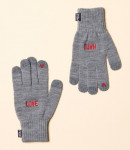 [W] W CONCEPT Piecemaker Love Hate Smart Glove (Grey)