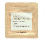 [S] THE SAEM Snail Essential EX Wrinkle Solution Cream 1ml*10ea