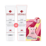 [R] CELL FUSION C LASER SUN SCREEN 100 50ml 1+1 + MODELING PACK 3EA