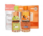 ETUDE HOUSE Monster Cleansing Water Duo Special Set 300ml*2+Cotton Pad 60ea