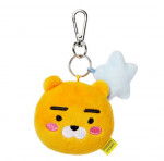 [W] KAKAO FRIENDS Face Plush(mini)-RYAN Keychain