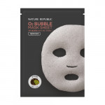 NATURE REPUBLIC O2 Bubble Black Tea Mask Sheet 28g