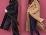 [W] SECRET LABEL Simple Long Wool Coat