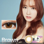 [LensMe] Brush Hologram Brown