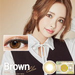 [LensMe] Shadow Hologram Brown