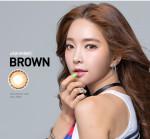 [OLens] Eye Flower Brown