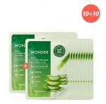 TONYMOLY Wonder Chok Chok Mask sheet Aloe 10+10
