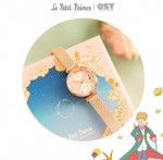 [R] OST Little Prince B612 The Rose of planet rose gold metal watch