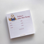 [W] 10X10 Love Is Giving Notebook 1ea