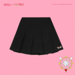 [R] SPAO Card Capture Cherry Skirts #IVORY-M