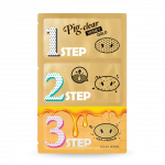 HOLIKA HOLIKA Pig Clear Black Head 3-STEP Kit Honey Gold 3g