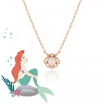 [W] 1300k Disney X Clou Mermaid Princess Huron Shell Petit Silver Necklace CLNR18611MPW 1ea