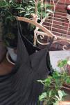 [W] MILKCOCOA daily strap dress+black knit