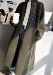 [W] Reversible double-sided fleece long lease business 1ea
