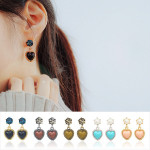 [R] WING BLING Rococo Earrings 1ea