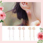 [R] WING BLING Iris Earring 1ea