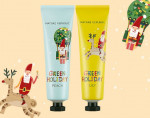 NATURE REPUBLIC Green Holiday _Hand & Nature Hand Cream (Peach+Lily)