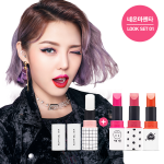 ETUDE HOUSE SET.01/02 Neon Magenta (3Color+Nutrition Lip Balm Or Concealer+Holder 2ea)