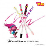 THE FACE SHOP Ink Gel Slim Mechanical Pencil Eye Liner 0.1g (Trolls Edition)