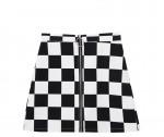 [W] MIXXMIX Ring Chess Skirt
