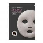 NATURE REPUBLIC O2 Bubble Black Rose Mask Sheet 28g