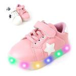 [W] BEBEMARU Star Light Children\'s shoes
