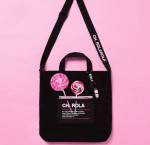 [R] Whistle mini cross bag #BLACK