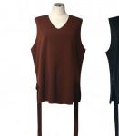 [R] RICH MOOD Ribbon vest