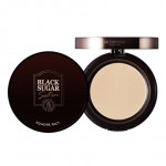 [E] SKINFOOD Black Sugar Satin Powder Pact SPF25 PA++ 10g