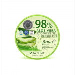 3W CLINIC Aloe Vera Soothing Gel 98% 300ml
