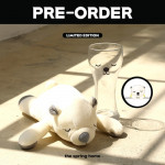 [W] THE SPRING HOME Special Preorder White Bear+ Glass 1set