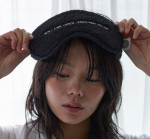 [W] COOL ENOUGH STUDIO The Sleeping Mask Black 1ea