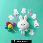 [W] THE RECORDER FACTORY Rabbit Doll 1ea