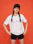 [W] W CONCEPT Century Boy SS T-shirt (Color : White) 1ea