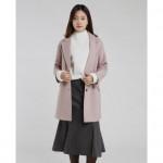 [W] MIXXO Girlish Overfit Half Jacket 1ea (Color : Navy, Size : S)