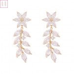 [W] NOONOOFINGERS Heliconia Drop Earring 1set