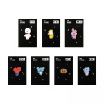 [W] MONOPOLY BT21 Pin Badge 1ea