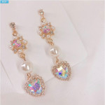 [W] KIRAKIRA55 Earrings 1set