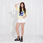 [W] LAP Unisex Edition Numerical Polo Shirt (AJ2CTS67) 1ea