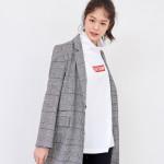 [W] LAP Unisex Edition High neck polo shirt (AJ2CTS59) 1ea