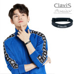 [W] CLAVIS Bonito Bracelet (color : black) 1ea